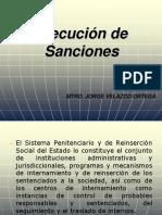 Curso sobre ejecución de sanciones penales sistema acusatorio