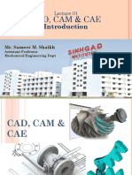 Lecture01_CAD CAM_CAE_ Introduction of the Course