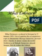 Mihai Eminescu Biografie
