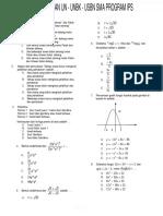 Soal Matematika - Ips