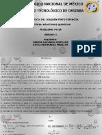 Reactores Químicos. Problema P5-4A (Corregido) - Equipo 1