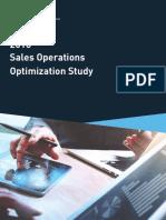 2018 Sales Operations Optimization Study