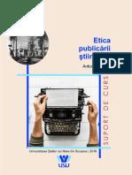 Suport Curs Etica Publicarii Stiintifice Sandu 2018