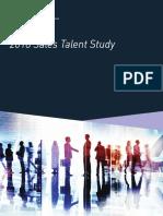 2018 Sales Talent Study 1