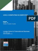 Level 4 Diploma in Computing