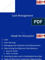 11 Cash Management