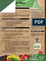 Naturvital-Plus ING Technical Data Sheet