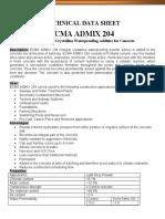 ECMA ADMIX 204
