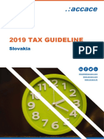2019 Tax Guideline for Slovakia