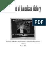 American History 2011