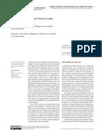 ROSSI.P&DWECK.E Impactos Do Novo Regime Fiscal Na Saúde