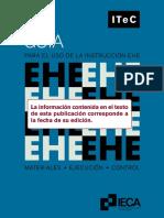 Guía para el uso de la instrucción EHE. Materiales, Ejecución, Control_ITeC_1998.pdf