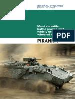 MOWAG Piranha 3 Brochure GDELS