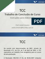 GE - Orientações do TCC - André Limeira