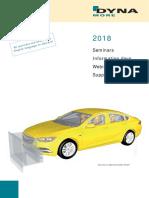 2018 DYNAmore Seminar Brochure E