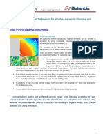 3D Models Development Technology for Wireless Networks Planning and Optimization