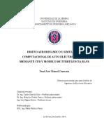 DISEÑO AERODINÁMICO Y SIMULACIÓN COMPUTACIONAL DE AUTO ELÉCTRICO SOLAR MEDIANTE CFD Y MODELO DE TURBULENCIA RANS