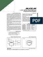 MAX662A datasheet