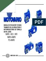 Catalogo de Reductores Motovario