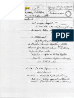 Congressional Relocation - Handwritten Notes