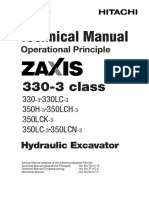 Zx330-3 Operation Principle
