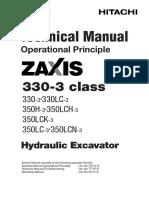 Zx330-3 Operation Principle