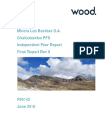 Chalcobamba P00142 PFS Independent Peer Review June 2018 Final Report Rev 0 Compiled