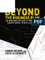 Simon Bridge, Cecilia Hegarty (Auth.) - Beyond the Business Plan_ 10 Principles for New Venture Explorers-Palgrave Macmillan UK (2013)