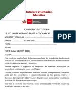 Cuaderno de Tutoria