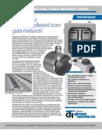 Sistemas Bifuel en Equipos Diesel
