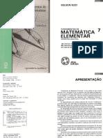 Fund.mat.Elementar.vol.7 - Geometria Analítica