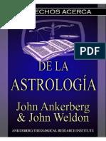 Los Hechos sobre la Astrología