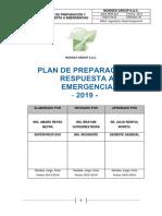 7.1. Plan de Preparacion y Respuesta a Emergencia