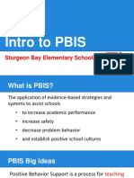 intro to pbis at sturgeon bay elementary