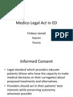 Medico Legal Aspects in EM