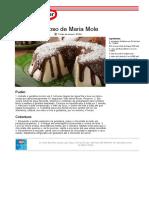 Recipe PDF Pudim Cremoso de Maria Mole