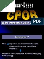 CPOB + plus perhitungan formulasi