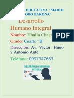 Desarrollo Integral Humano.docx