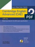 Cambridge English Advanced Cae 2 With Key PDF