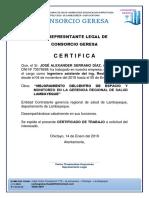 Certificados Serrano