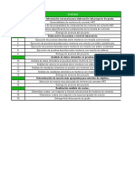 Tabla Cronograma