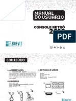 Manual Console Retro