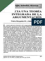 Teoria de La Argumentacion Sample (1)