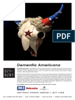 Dementia Americana at the LUX Center for the Arts