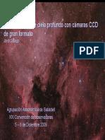 Astrofotografía CCD JGallego