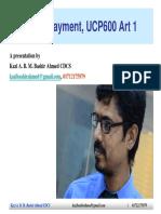 Bashir-UCP Art1, Trade Payment