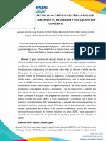 PROGRAMA DE TUTORIAS DO GEPET COMO FERRAMENTA DE DIAGNÓSTICO E MELHORIA NO RENDIMENTO DOS ALUNOS EM GEOFÍSICA
