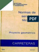 Normas de servicios tecnicos proyecto geometrico.pdf