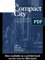 220149633 the Compact City Asustainable Urban Form
