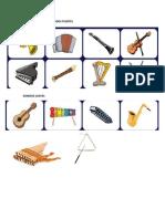 Instrumentos Con Sonidos Fuertes
